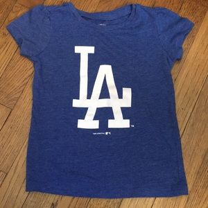 Other - Toddler Girls LA Dodgers Shirt - Size 3T